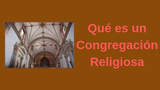 congregación religiosa